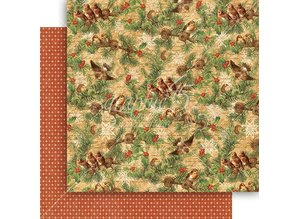 Graphic 45 Winter Wonderland 12x12 Inch Paper Pad (4501606)