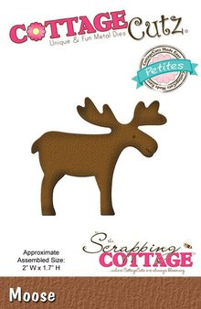 Scrapping Cottage CottageCutz Moose (Petites) (CCP-051)