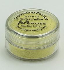 Mboss Embossing Powder Rainbow Yellow (390107)