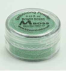 Mboss Embossing Powder Bright Green (390117)