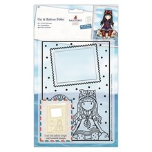 Gorjuss Little Fishes Cut & Emboss Folder (GOR 503013)