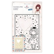 Gorjuss Little Heart Cut & Emboss Folder (GOR 503014)