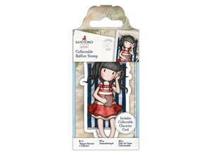 Gorjuss Summer Days Rubber Stamp (GOR 907141)