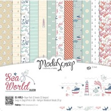 ModaScrap Sea World 12x12 Inch Paper Pack (SWPP12)