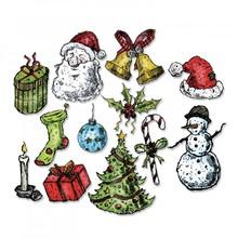 Sizzix Framelits Alterations Tattered Christmas (662437)