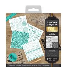 Crafter's Companion Foil Transfers - Time For Tea (CC-FOILTR-TFT)