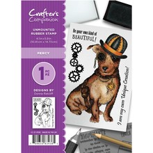 Crafter's Companion Percy Unmounted Rubber Stamp Set (CC-ST-PERC)