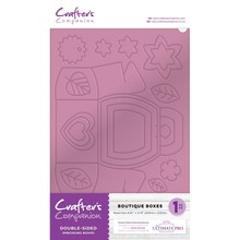 Crafter's Companion Double-Sided Embossing & Scoring Board Boutique Boxes (EMBRD-BBOX)