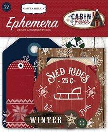 Carta Bella Cabin Fever Ephemera (CBCF73024)