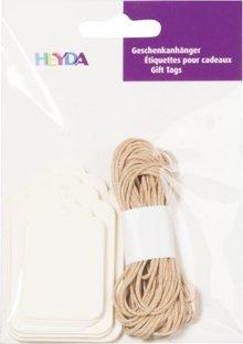 Heyda Gift Tags Langwerpig Crème (204870734)