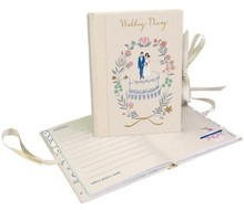 Roger La Borde Cake Topper Wedding Diary (A5W 029)