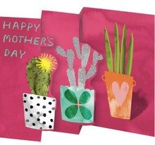 Roger La Borde Trifold Triptych Card Happy Mother's Day (GCN 240M)