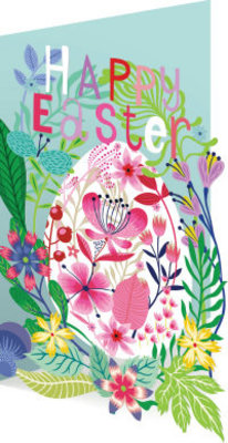 Roger La Borde Enchanted Easter Lasercut Card (GC 1976E)
