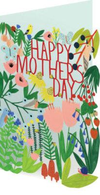 Roger La Borde Mother's Day Garden Lasercut Card (GC 1979M)