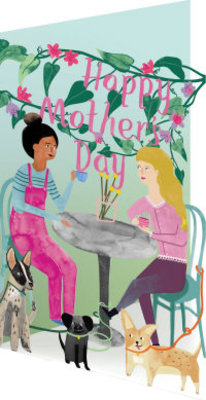 Roger La Borde Mother's Day Cafe Lasercut Card (GC 1980M)