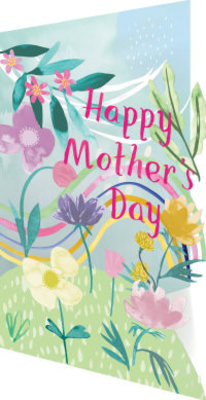 Roger La Borde Mother's Day Rainbow Lasercut Card (GC 1981M)