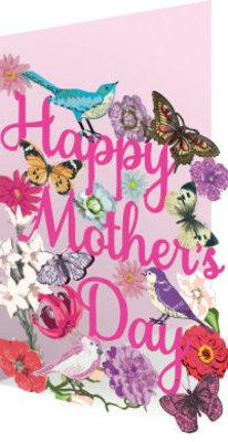 Roger La Borde Mother's Day Tweets Lasercut Card (GC 1870M)