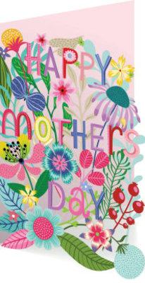 Roger La Borde Enchanting Mother's Day Lasercut Card (GC 1928M)
