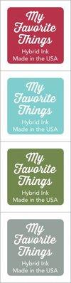 My Favorite Things Hybrid Ink Cubes - Set 4 (ICUBE-24)