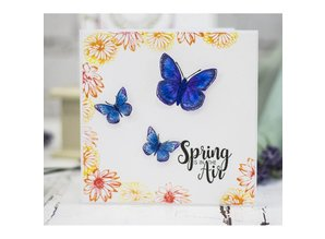 Crafter's Companion Spring Is In The Air Unmounted Rubber Stamp Set (CC-ST-SIITA)