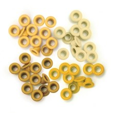 We R Memory Keepers Yellow Eyelets