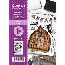 Crafter's Companion Fairy Door  Unmounted Rubber Stamp Set (CC-ST-FD)