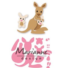 Marianne Design Collectable Eline's Kangaroo & Baby (COL1446)