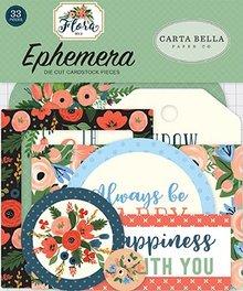 Carta Bella Flora no.2 Ephemera (CBFL079024)