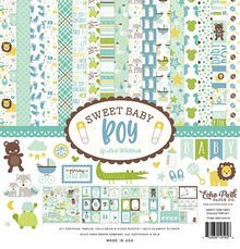 Echo Park Sweet Baby Boy 12x12 Inch Collection Kit (SBB143016)