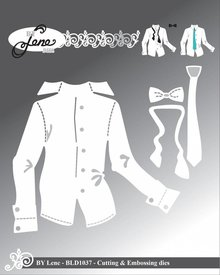 By Lene Metal Dies Shirt (BLD1037)