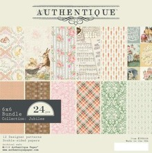 Authentique Jubilee 6x6 Inch Paper Pad (JUB008)
