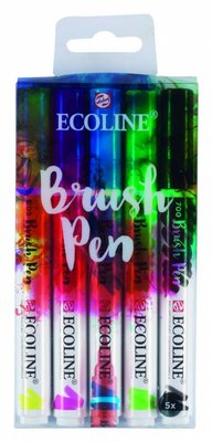 Talens Ecoline Brush Pen Set 5 (11509001)