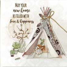 Paperclip Wishes & Quotes Wenskaart (37)