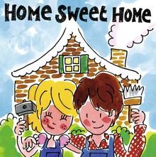 Blond Amsterdam Home Sweet Home Wenskaart (BL168)