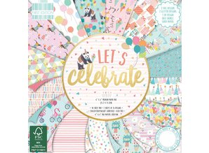 First Edition Let's Celebrate 6x6 Inch Paper Pad (FEPAD190)