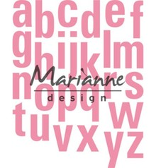 Marianne Design Collectable Alfabet XXL (COL1449)