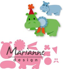 Marianne Design Collectable Eline's Happy Hippo (COL1450)