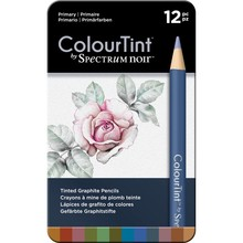Spectrum Noir ColourTint Tinted Graphite Pencils Primary (SPECCT-PRI12)