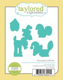 Taylored Expressions Woodland Winter Coordinating Dies (TE453)