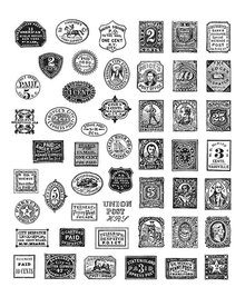 Stampers Anonimous Cling Stamps Stamp Collector (CMS338)