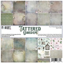 49 And Market Tattered Garden 6x6 Inch Collection Pack (TG87346)