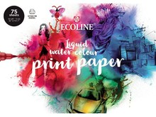 Talens Ecoline Liquid Watercolour Print Paper A4 (75 sheets) (91580002)