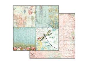 Stamperia Wonderland 12x12 Inch Paper Pack (SBBL38)