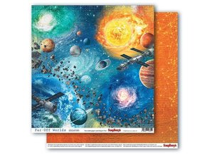 ScrapBerry's Far-Off Worlds 6x6 Inch Paper Pack (SCB220610909X)