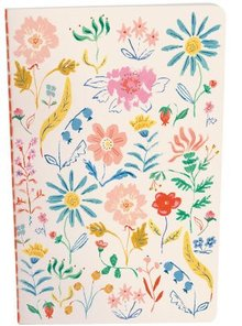 Roger La Borde Walk This Way Floral Exercise Book (A5E 064)