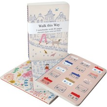 Roger La Borde Walk This Way A6 Exercise Books Bundle (A6E 039S)