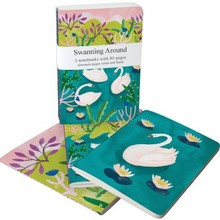 Roger La Borde Swanning Around A6 Exercise Books Bundle (A6E 041S)