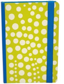 Roger La Borde Quantum Dots Chrome Journal With Elastic Binder (ASN 014)