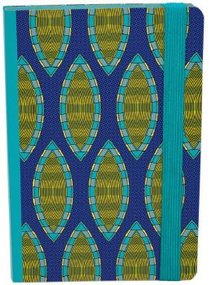 Roger La Borde Shweshwe Journal With Elastic Binder (ASN 015)