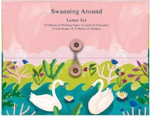 Roger La Borde Swanning Around Letter Set (WS 032)